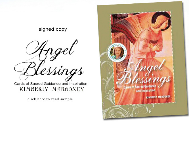 Angels Blessings Cards of Sacred guidance